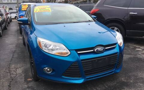 2012 Ford Focus for sale at Jeff Auto Sales INC in Chicago IL