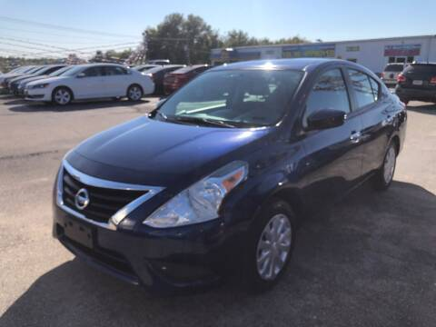 2019 Nissan Versa for sale at Greg's Auto Sales in Poplar Bluff MO