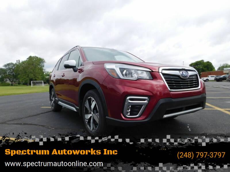 2020 Subaru Forester for sale at Spectrum Autoworks Inc in Oak Park MI