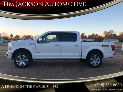 2015 Ford F-150 for sale at Tim Jackson Automotive in Jonesville LA