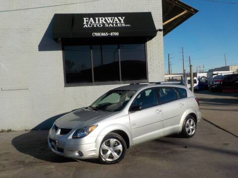 2004 Pontiac Vibe for sale at FAIRWAY AUTO SALES, INC. in Melrose Park IL