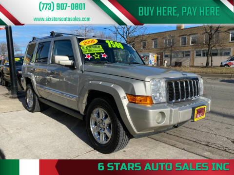 2008 Jeep Commander for sale at 6 STARS AUTO SALES INC in Chicago IL