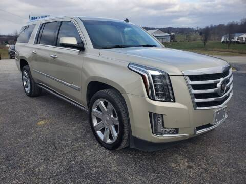 2015 Cadillac Escalade ESV for sale at Hatcher's Auto Sales, LLC in Campbellsville KY