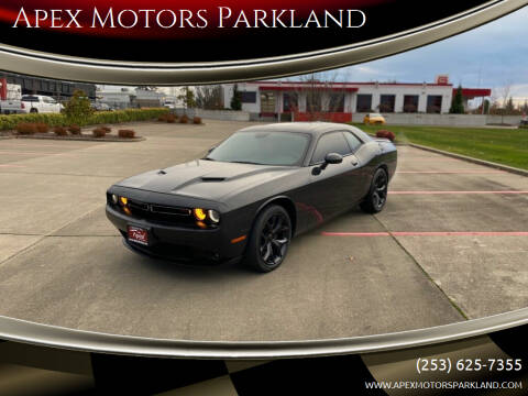 2015 Dodge Challenger for sale at Apex Motors Parkland in Tacoma WA