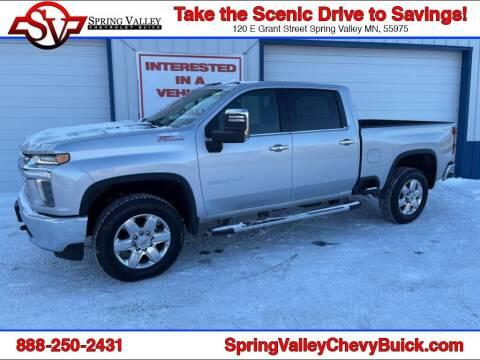 2021 Chevrolet Silverado 2500HD for sale at Spring Valley Chevrolet Buick in Spring Valley MN