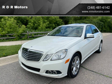 2010 Mercedes-Benz E-Class for sale at R & R Motors in Waterford MI