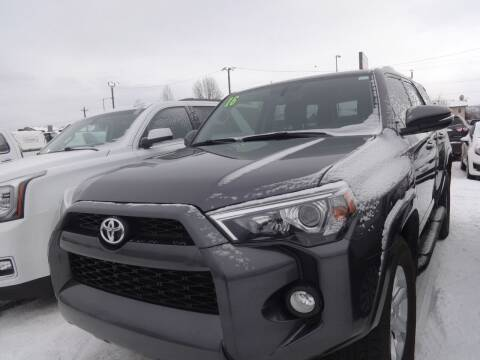 2016 Toyota 4Runner for sale at Dependable Used Cars in Anchorage AK