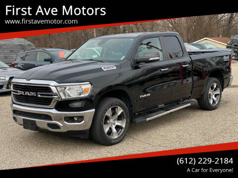 2020 RAM Ram Pickup 1500 for sale at First Ave Motors in Shakopee MN