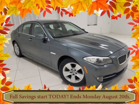 2011 BMW 5 Series for sale at Southern Star Automotive, Inc. in Duluth GA