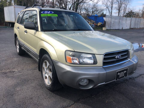 2004 Subaru Forester for sale at PARK AVENUE AUTOS in Collingswood NJ