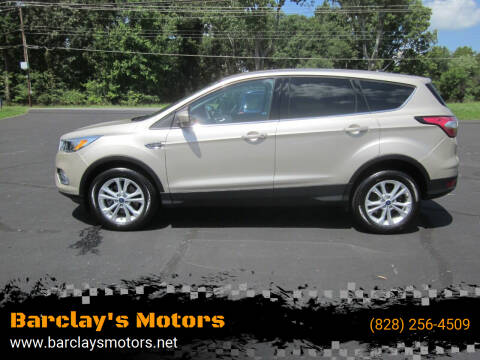 2017 Ford Escape for sale at Barclay's Motors in Conover NC