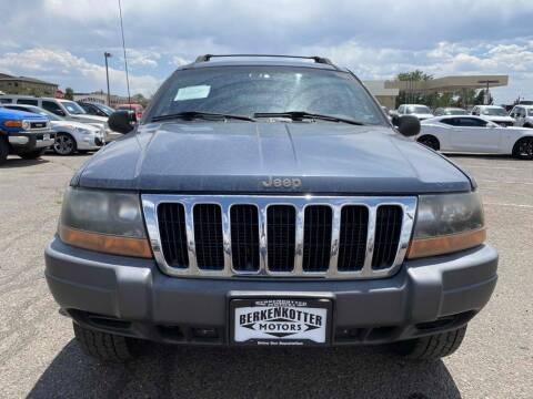 2001 Jeep Grand Cherokee for sale at BERKENKOTTER MOTORS in Brighton CO