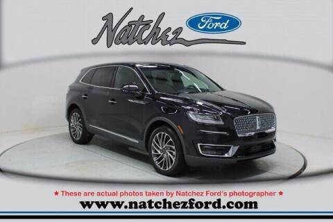 2020 Lincoln Nautilus for sale at Auto Group South - Natchez Ford Lincoln in Natchez MS