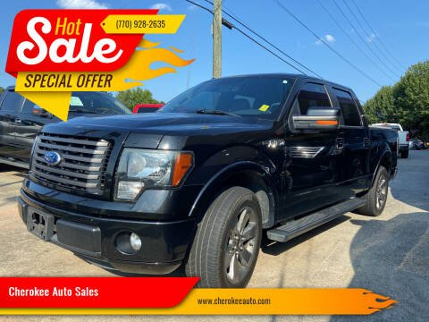2011 Ford F-150 for sale at Cherokee Auto Sales in Acworth GA