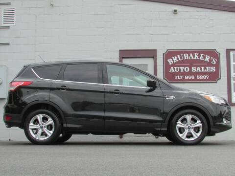 2015 Ford Escape for sale at Brubakers Auto Sales in Myerstown PA