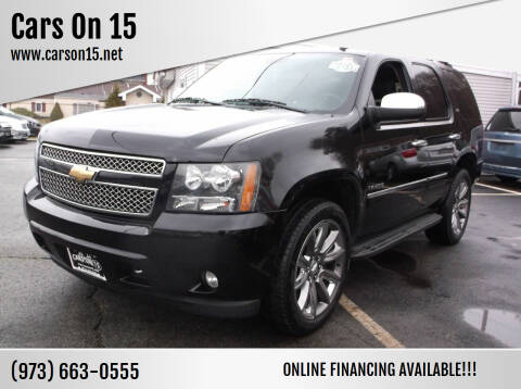 2011 Chevrolet Tahoe for sale at Cars On 15 in Lake Hopatcong NJ