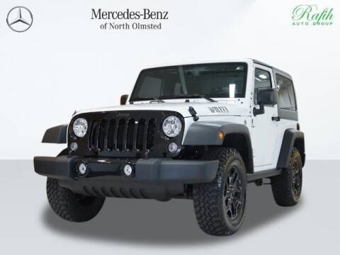 2017 Jeep Wrangler for sale at Mercedes-Benz of North Olmsted in North Olmstead OH