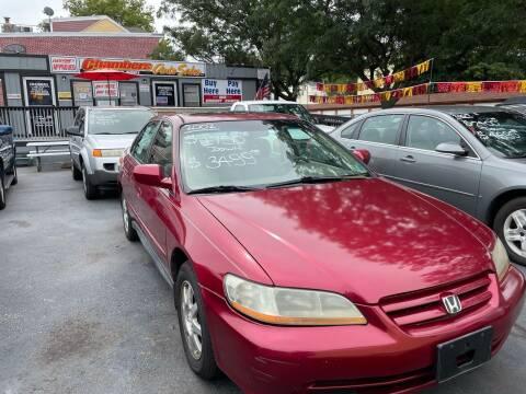 2002 Honda Accord for sale at Chambers Auto Sales LLC in Trenton NJ