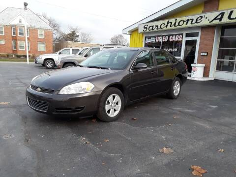 2008 Chevrolet Impala for sale at Sarchione INC in Alliance OH