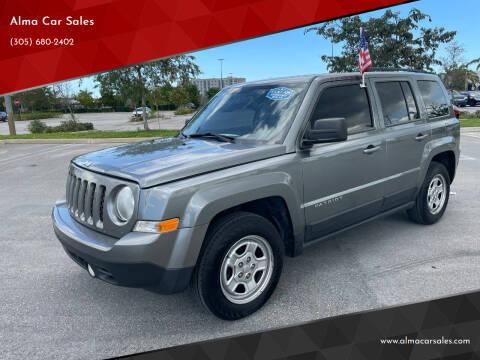2013 Jeep Patriot for sale at Alma Car Sales in Miami FL