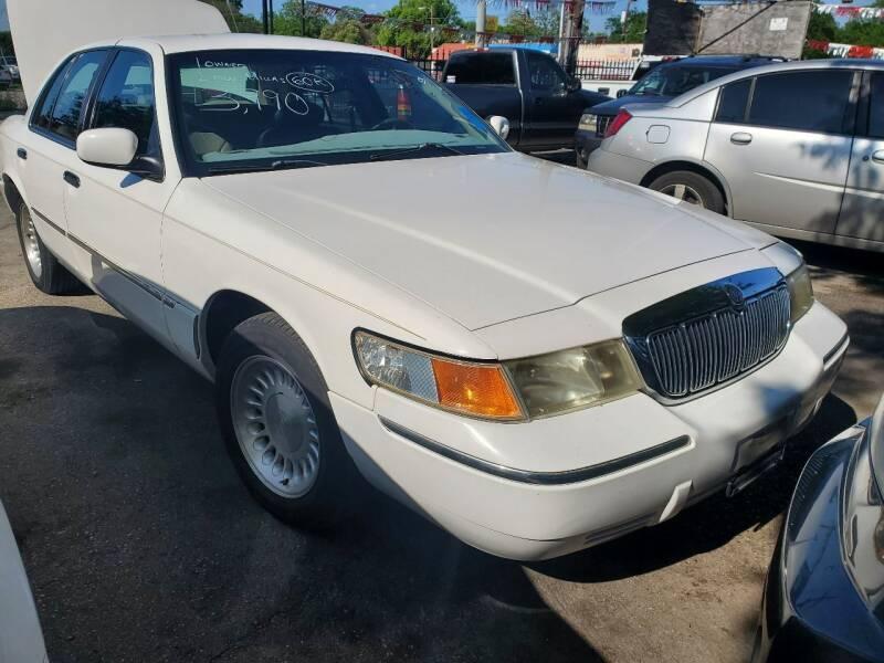 1999 Mercury Grand Marquis for sale at C.J. AUTO SALES llc. in San Antonio TX