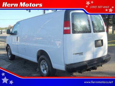 2014 Chevrolet Express Cargo for sale at Hern Motors in Hubbard OH