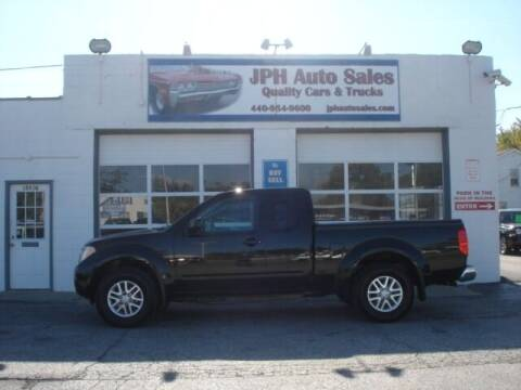 2014 Nissan Frontier for sale at JPH Auto Sales in Eastlake OH