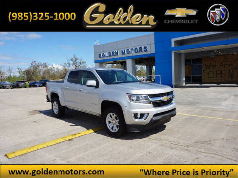 2019 Chevrolet Colorado for sale at GOLDEN MOTORS in Cut Off LA