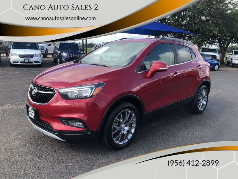 2017 Buick Encore for sale at Cano Auto Sales 2 in Harlingen TX