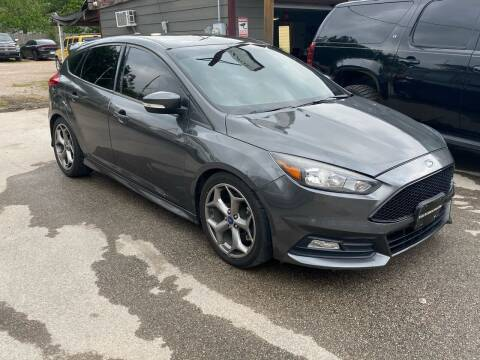 2017 Ford Focus for sale at Texas Luxury Auto in Houston TX