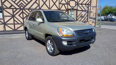 2007 Kia Sportage for sale at Used Car Showcase in Phoenix AZ