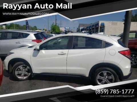 2017 Honda HR-V for sale at Rayyan Auto Mall in Lexington KY