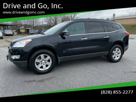 2010 Chevrolet Traverse for sale at Drive and Go, Inc. in Hickory NC