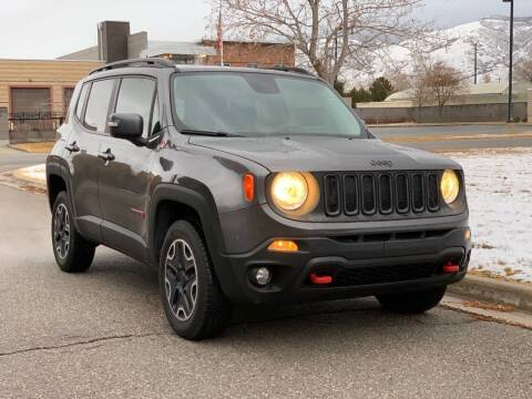 2017 Jeep Renegade for sale at A.I. Monroe Auto Sales in Bountiful UT