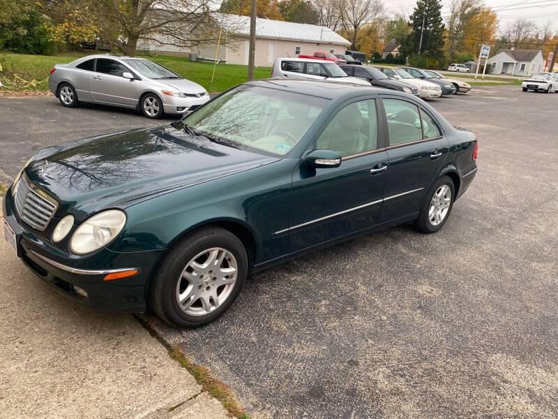 2004 Mercedes-Benz E-Class for sale at STARLITE AUTO SALES LLC in Amelia OH
