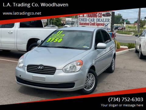 2011 Hyundai Accent for sale at L.A. Trading Co. Woodhaven in Woodhaven MI