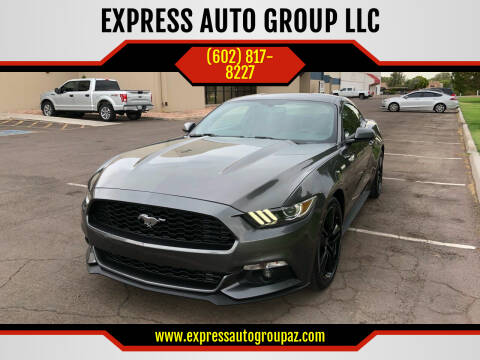 2016 Ford Mustang for sale at EXPRESS AUTO GROUP in Phoenix AZ