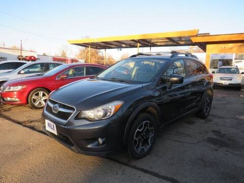 2015 Subaru XV Crosstrek for sale at Nile Auto Sales in Denver CO