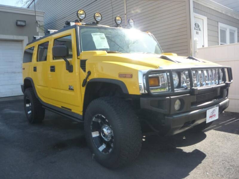 2003 HUMMER H2 for sale at Pinto Automotive Group in Trenton NJ