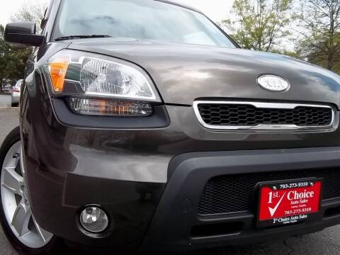 2010 Kia Soul for sale at 1st Choice Auto Sales in Fairfax VA