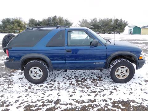 2000 Chevrolet Blazer for sale at WESTERN RESERVE AUTO SALES in Beloit OH
