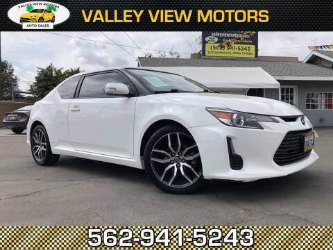 2014 Scion tC for sale at Valley View Motors in Whittier CA