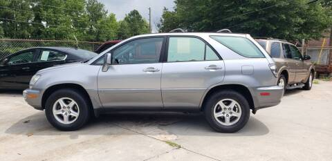 2001 Lexus RX 300 for sale at On The Road Again Auto Sales in Doraville GA