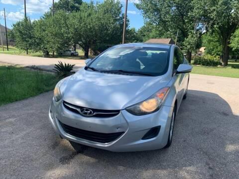 2011 Hyundai Elantra for sale at CARWIN MOTORS in Katy TX