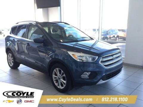 2018 Ford Escape for sale at COYLE GM - COYLE NISSAN in Clarksville IN