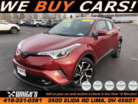 2018 Toyota C-HR for sale at White's Honda Toyota of Lima in Lima OH