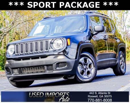2018 Jeep Renegade for sale at Used Imports Auto in Roswell GA