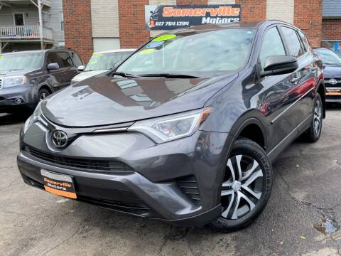 2017 Toyota RAV4 for sale at Somerville Motors in Somerville MA
