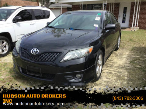 2011 Toyota Camry for sale at HUDSON AUTO BROKERS INC in Walterboro SC