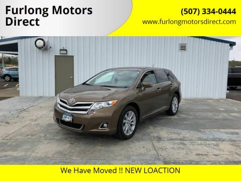 2013 Toyota Venza for sale at Furlong Motors Direct in Faribault MN